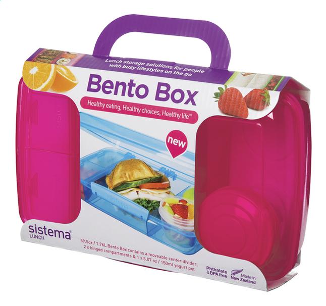 Sistema lunchbox Bento Box rose