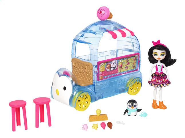 enchantimals le camion de glace de monsieur pingouin dreamland. Black Bedroom Furniture Sets. Home Design Ideas