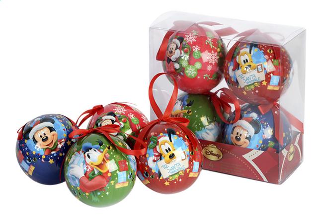 Kerstbal Disney Mickey Mouse - 4 stuks | DreamLand