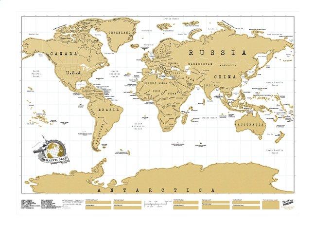 Carte Du Monde A Gratter Super Deals Et Nouveautes Au Quotidien Chez Dreamland