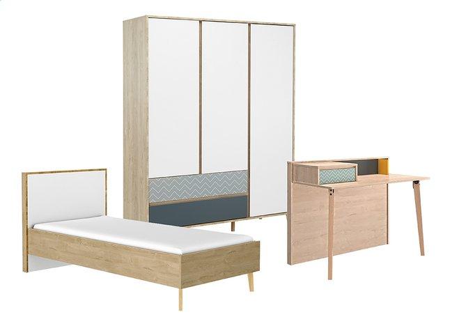 Image pour Chambre 3 éléments Larvik à partir de DreamLand