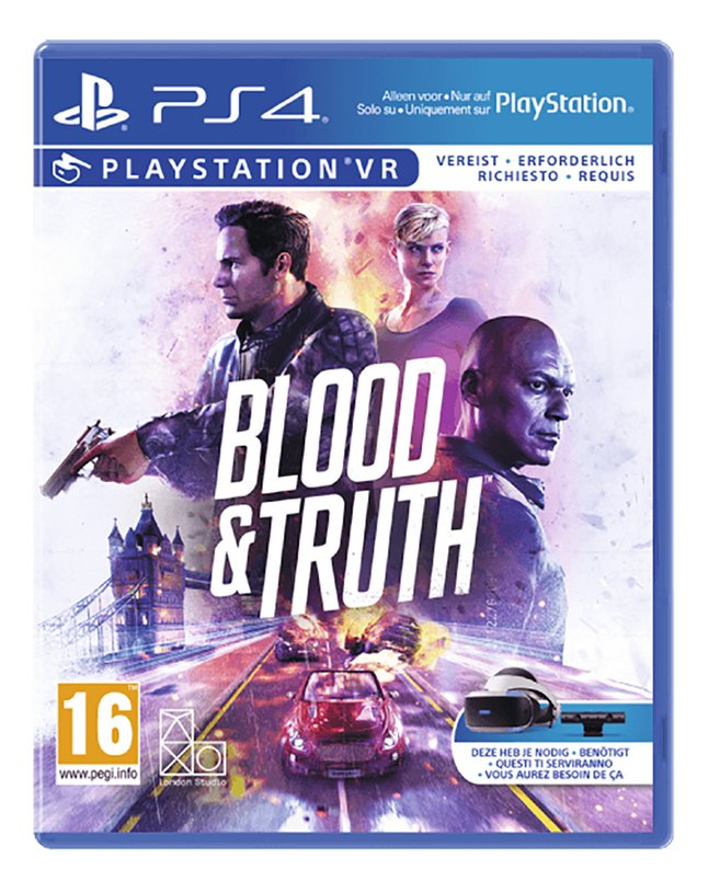 PS4 VR Blood & Truth FR/ANG