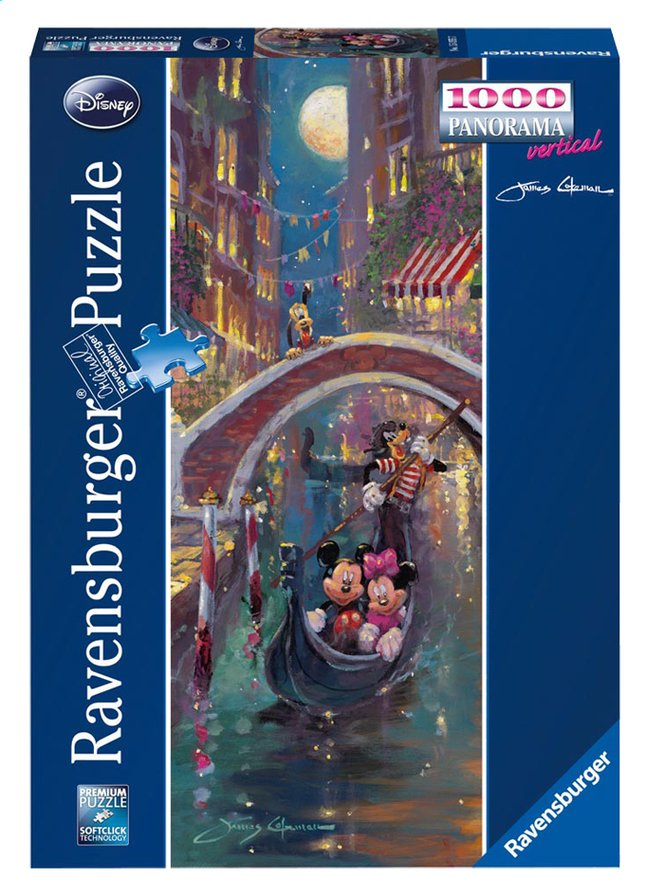 Afbeelding van Ravensburger puzzel Mickey en Minnie Mouse in Venetië from DreamLand