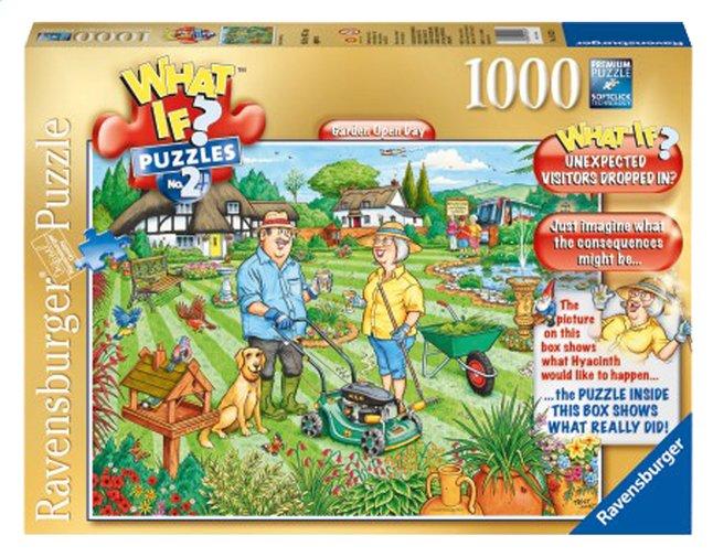 Afbeelding van Ravensburger puzzel What if? 2 Open Garden Day from DreamLand