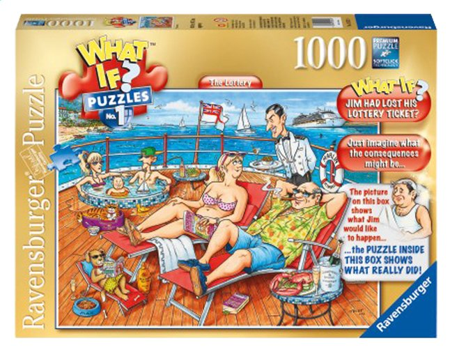 Afbeelding van Ravensburger puzzel What If? 1 The Lottery from DreamLand