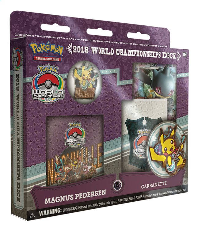Afbeelding van Pokémon Trading Cards 2018 World Championships Deck - Magnus Pedersen from DreamLand