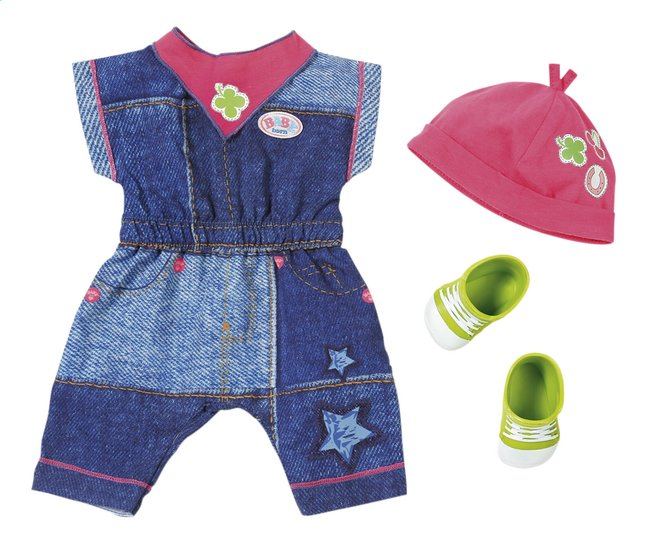 BABY born kledijset Deluxe Jeans collection Overall