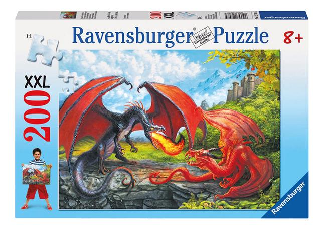 Afbeelding van Ravensburger puzzel Drakengevecht from DreamLand
