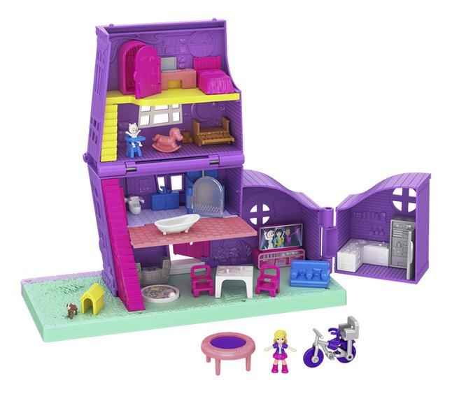 Afbeelding van Polly Pocket speelset Polyville huis from DreamLand