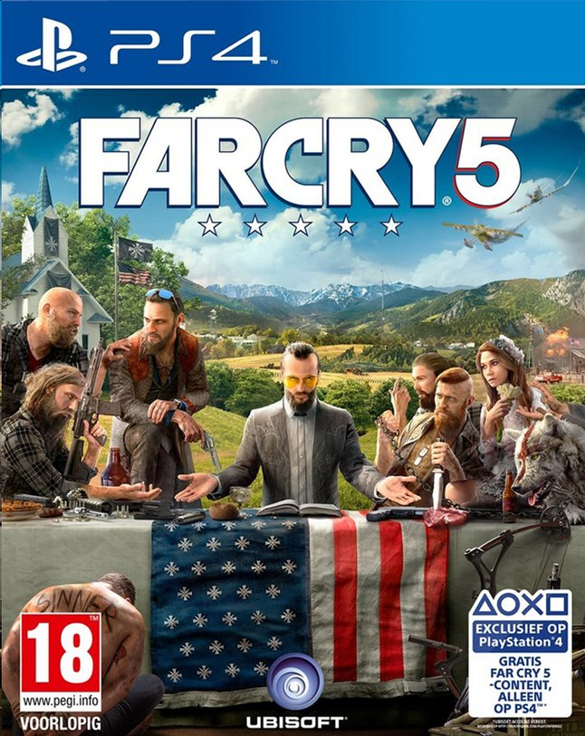 Afbeelding van PS4 Far Cry 5 ENG/FR from DreamLand