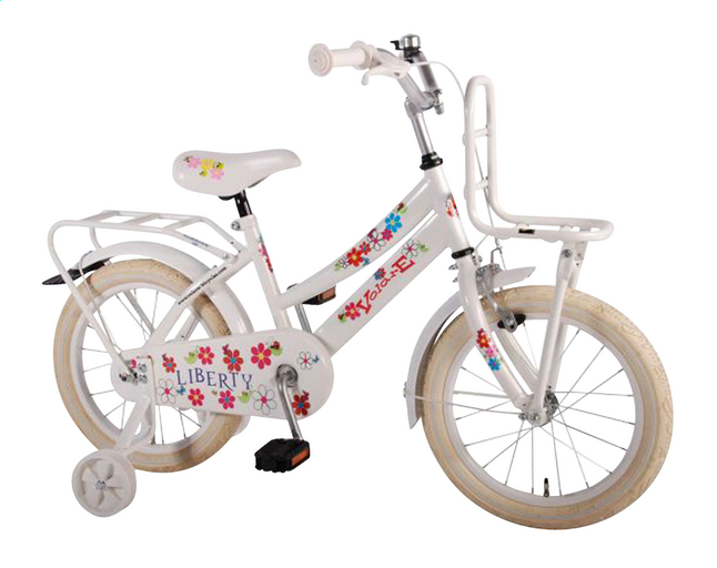 Image pour Volare vélo pour enfants Liberty Urban Flowerie white 16