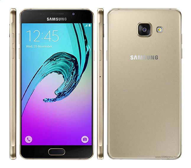 Afbeelding van Samsung smartphone Galaxy A3 versie 2016 goud from DreamLand