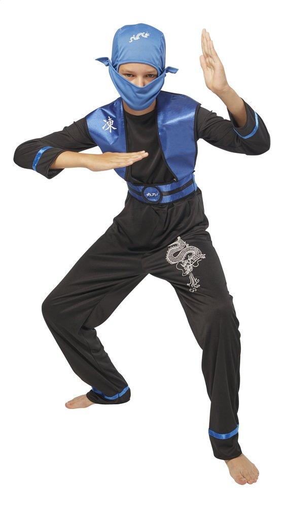DreamLand verkleedpak ninja blauw