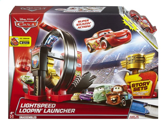 Afbeelding van Speelset Disney Cars Lightspeed Loopin' Launcher from DreamLand