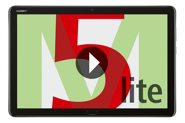 "Huawei tablet MediaPad M5 Lite Wi-Fi 10,1″"" 64 GB Grey + Bookcover"