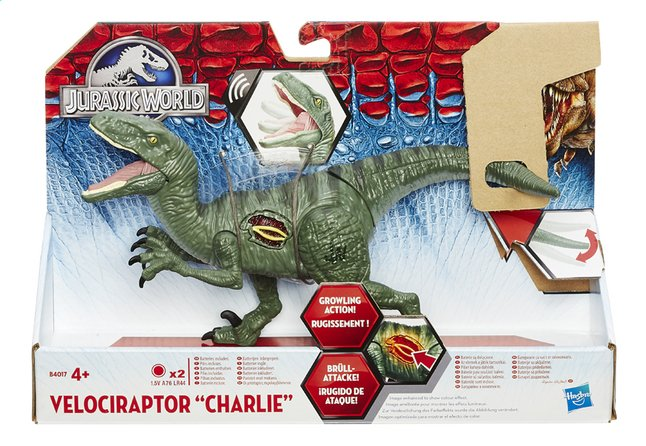 Afbeelding van Interactieve figuur Jurassic World Velociraptor