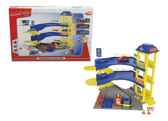 Afbeelding van Dickie Toys Garage Parking Station 3 verdiepingen from DreamLand
