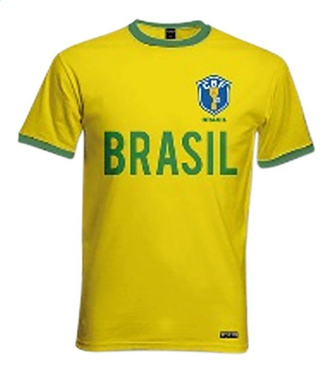 Afbeelding van Voetbalshirt Brazilië retro from DreamLand