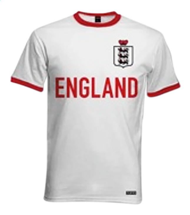 Afbeelding van Voetbalshirt Engeland retro from DreamLand