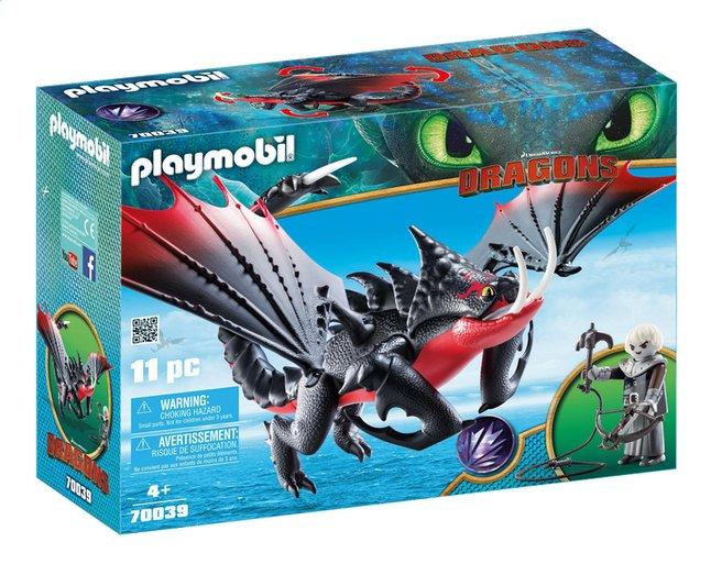 Image pour PLAYMOBIL Dragons 70039 Aggripemort et Grimmel à partir de DreamLand