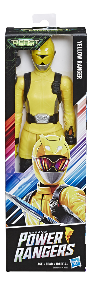 Afbeelding van Actiefiguur Power Rangers Beast Morphers - Yellow Ranger from DreamLand