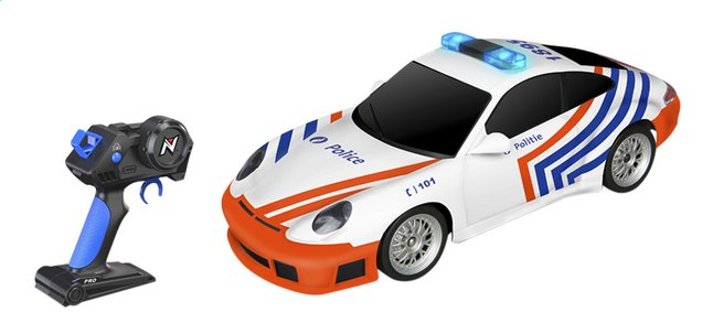 nikko auto rc porsche 911 politie belgi dreamland. Black Bedroom Furniture Sets. Home Design Ideas