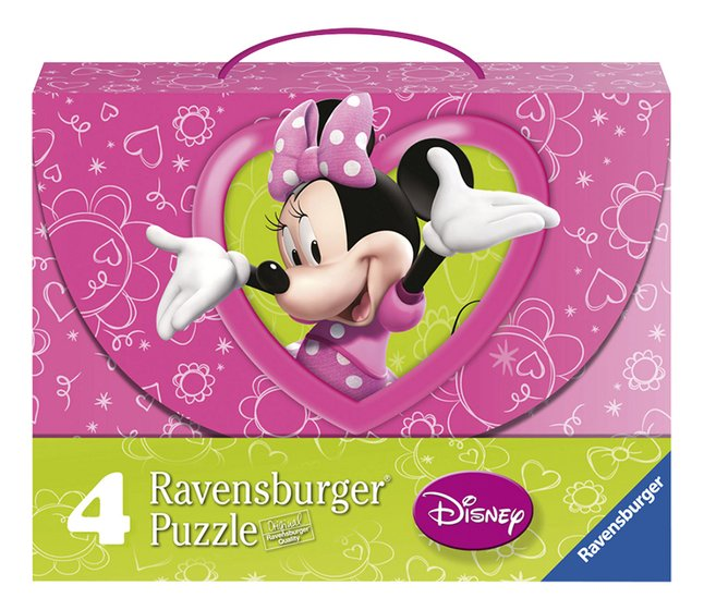 Afbeelding van Ravensburger 4-in-1 puzzel Minnie Mouse from DreamLand