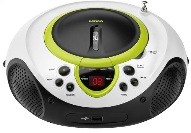 Image pour Lenco radio/lecteur CD portable SCD-38 vert à partir de DreamLand