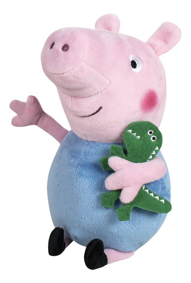 Peluche Peppa Pig 27 Cm George Super Deals Et Nouveautes Au Quotidien Chez Dreamland
