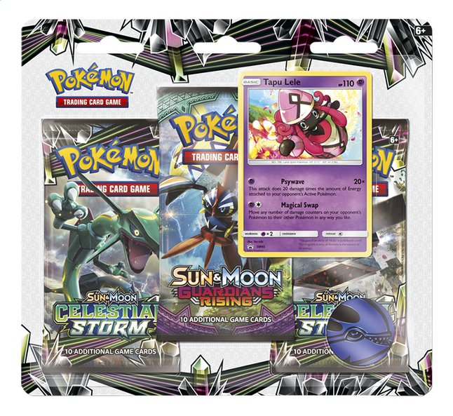 Afbeelding van Pokémon Trading Cards Sun & Moon 7 Celestial storm blister Tapu Lele from DreamLand
