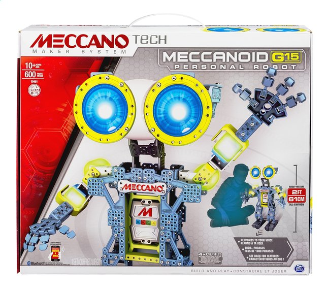 Afbeelding van Meccano robot Meccanoid G15 from DreamLand