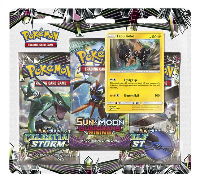 Afbeelding van Pokémon Trading Cards Sun & Moon 7 Celestial storm blister Tapu Koko from DreamLand