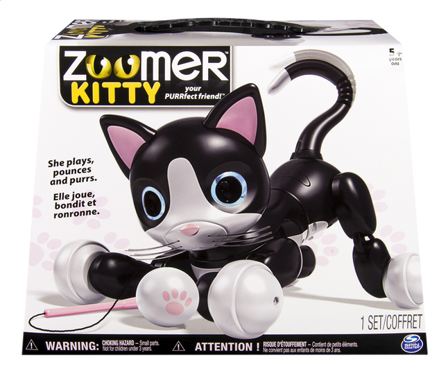 Afbeelding van Spin Master Robot Zoomer Kitty from DreamLand