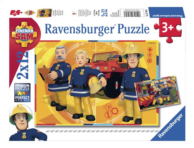 Afbeelding van Ravensburger Puzzel 2-in-1 Brandweerman Sam aan het werk from DreamLand