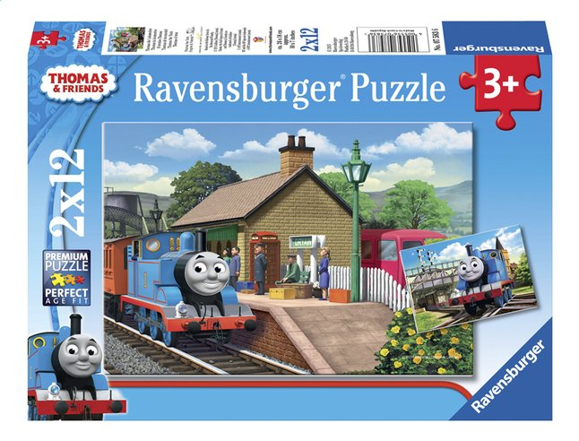 Afbeelding van Ravensburger puzzel 2-in-1 Thomas & Friends Thomas de locomotief from DreamLand