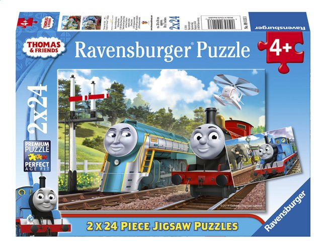 Afbeelding van Ravensburger puzzel 2-in-1 Thomas & Friends from DreamLand
