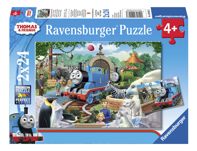 Afbeelding van Ravensburger puzzel 2-in-1 Thomas & Friends Dierenpark from DreamLand