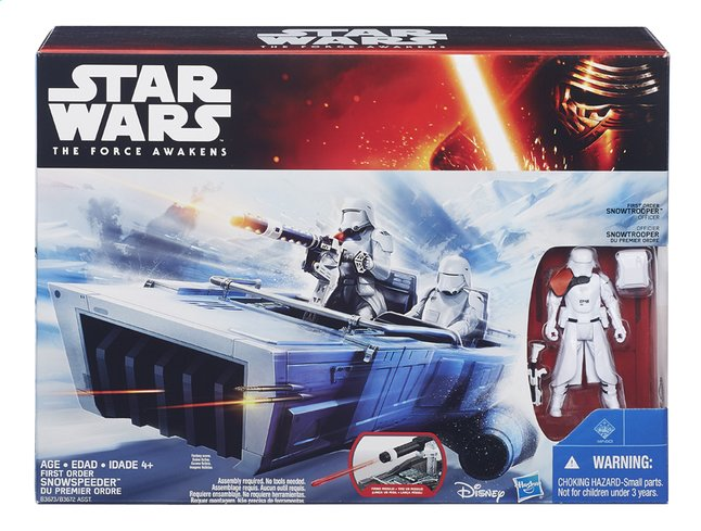 Afbeelding van Speelset Star Wars First Order Snowspeeder from DreamLand