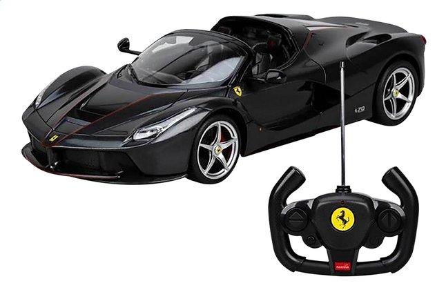 Rastar auto RC Ferrari LaFerrari Aperta zwart