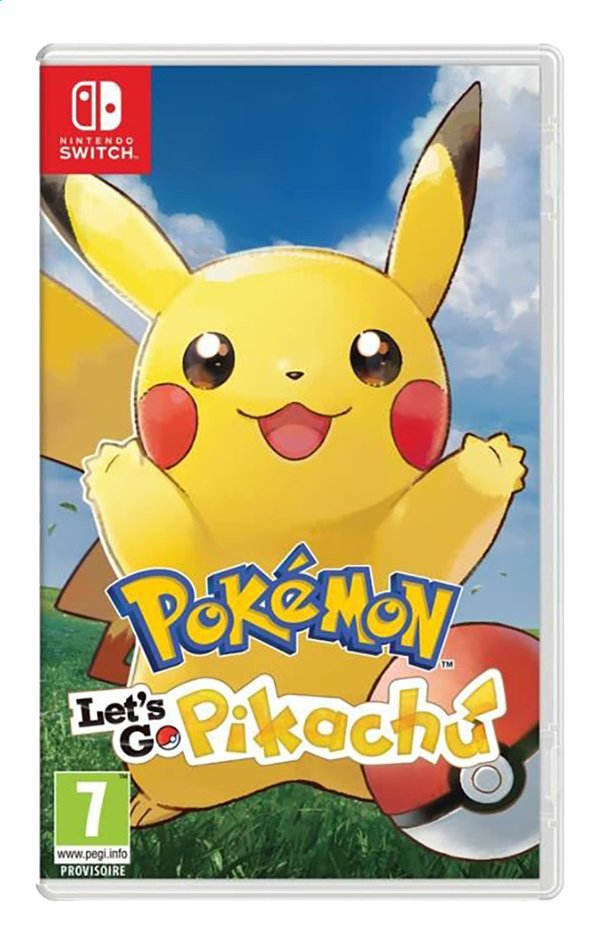Afbeelding van Nintendo Switch Pokémon Let's Go Pikachu ENG from DreamLand