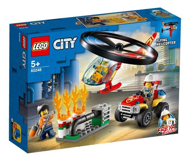 LEGO City 60248 L'intervention de l'hélicoptère des pompiers