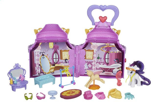 Afbeelding van My Little Pony speelset Cutie mark magic Rarity's booktique from DreamLand