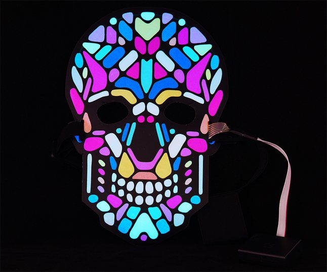 Goodmark masque Squelette Sound Reactive