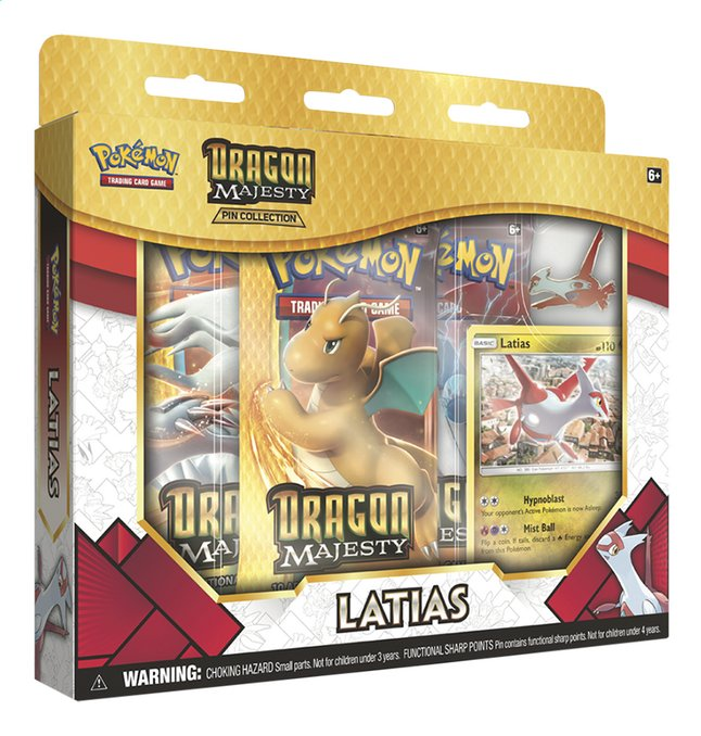 Afbeelding van Pokémon Trading Cards Dragon Majesty - Latias Pin Collection from DreamLand