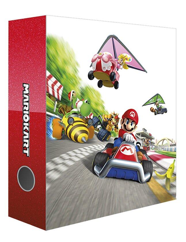 Classeur  A4 Mario Kart 6 cm
