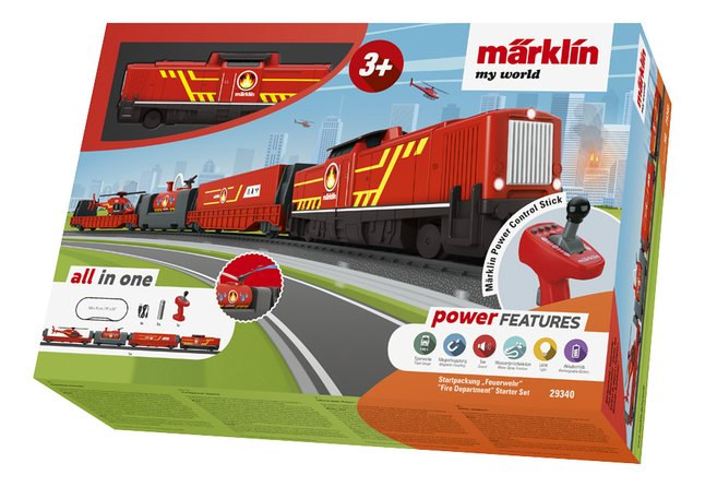 Märklin My World coffret de démarrage Pompier