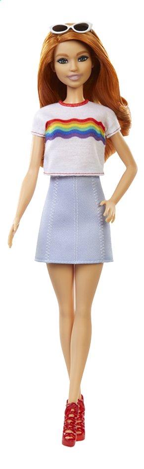 Barbie poupée mannequin  Fashionistas Original 122 - Rainbow shirt