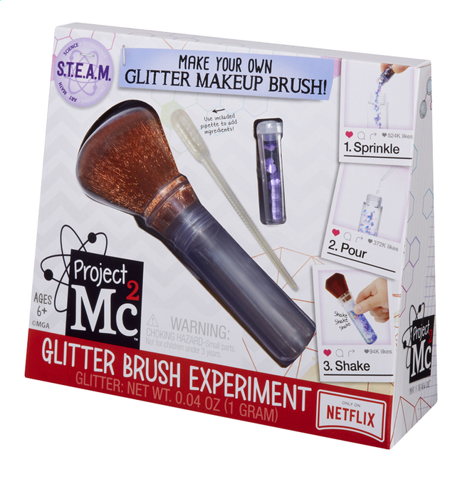Afbeelding van Project Mc² S.T.E.A.M. Experiment Glitter Brush from DreamLand