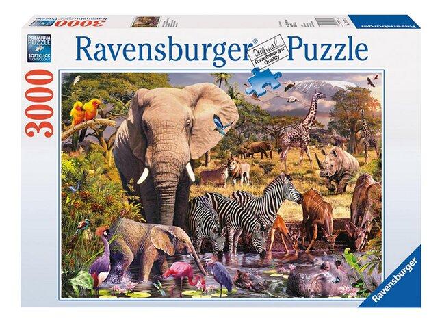 Image pour Ravensburger puzzle Animaux du continent africain à partir de DreamLand