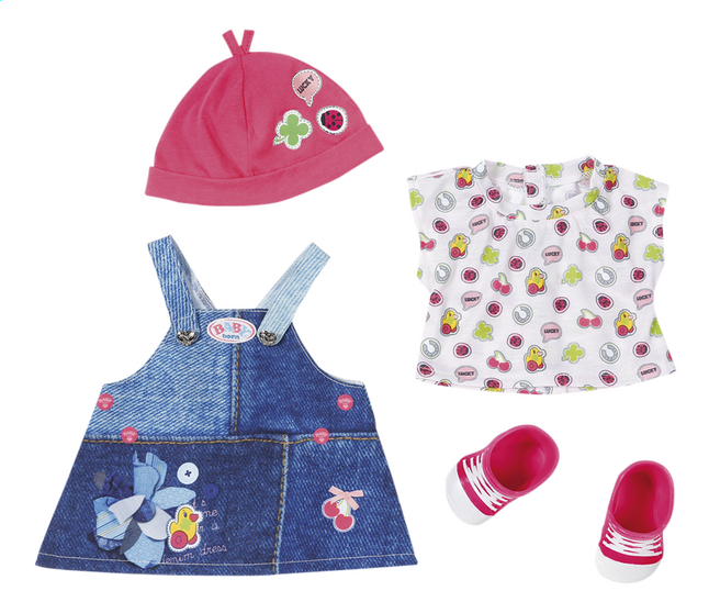 BABY born kledijset Deluxe Jeans collection Overgooier